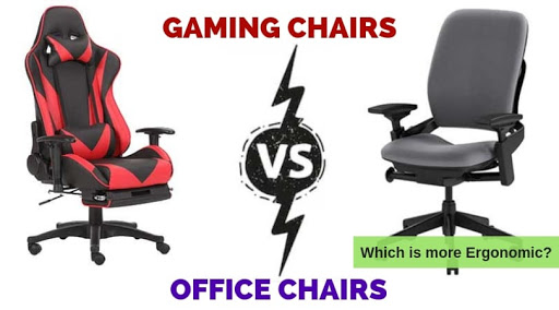 gaming chair vs office chair