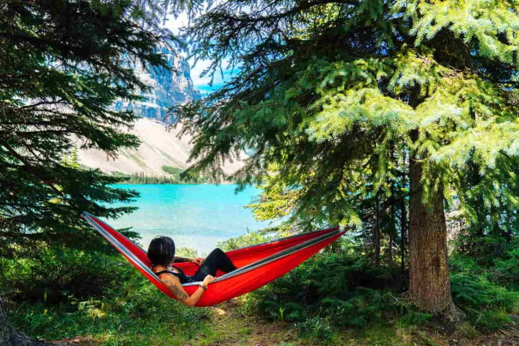 how to hang hammock chair indoors or outdoors
