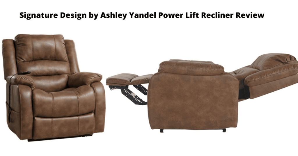 Signature Design by Ashley Yandel Power Lift Recliner Reviews