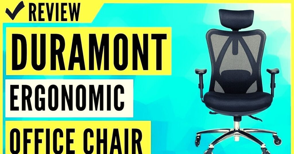 duramont ergonomic adjustable office chair review